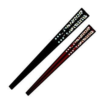 A couple's chopsticks