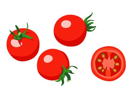 Ingredients_Vegetable_Mini tomato_No line