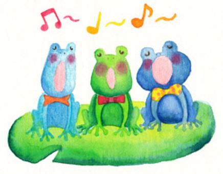 Frog choral ♪