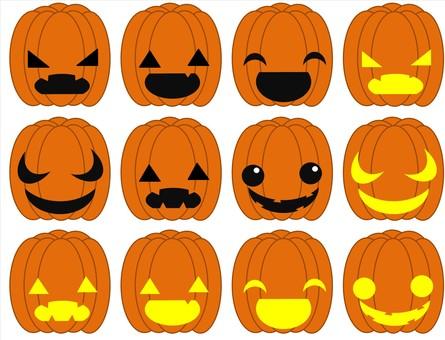 A lot of pumpkins ☆