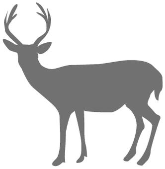 Deer _ Silhouette - 01