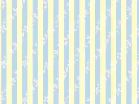 Chiyogami Sakura and vertical stripes (light blue)