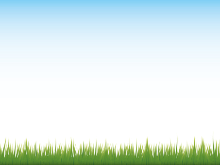 Grass background material