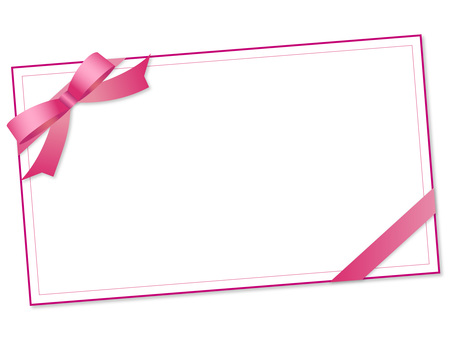 88. Message Card, Pink