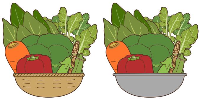 【Stuffed】 Green-yellow vegetable 2/2