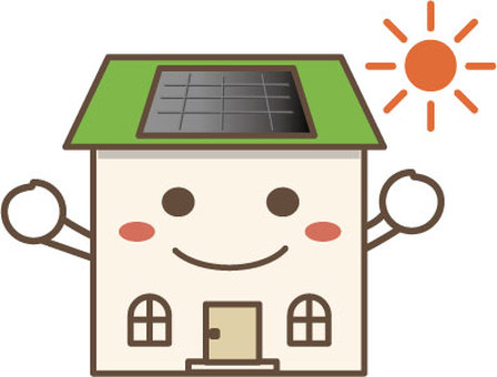 House character (solar power generation) 2