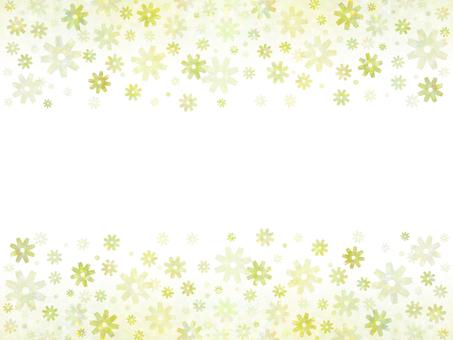 花卉圖案(黃色3)