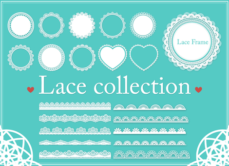 Lace frame line