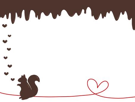 Valentine's squirrel
