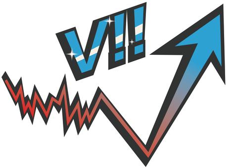 矢印-V字回復3