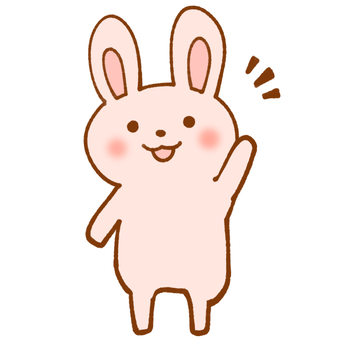 Pink Rabbit (greetings)