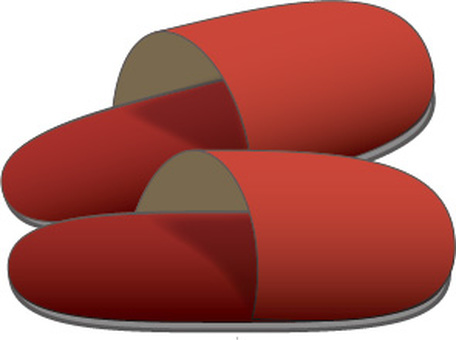 Slippers (red)