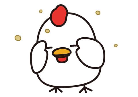 Animals. Chicken 15
