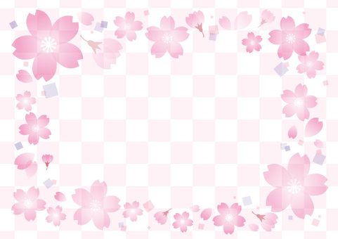 Cherry background material 01