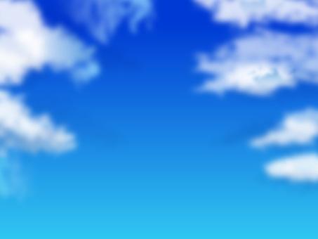 구름과 푸른 하늘 02