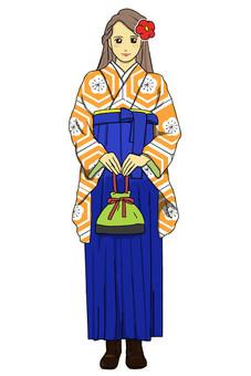 畢業Hakama Ume