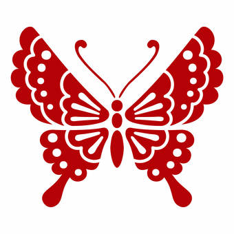 And handle / butterfly