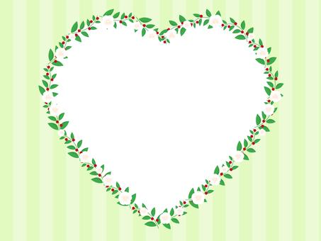 Flower Heart Frame 2