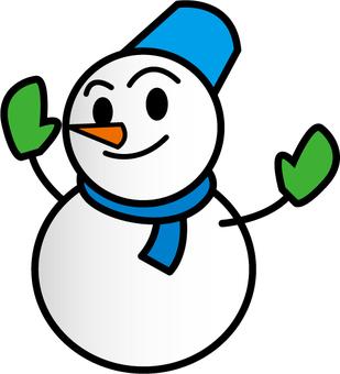 Snowman _ Blue