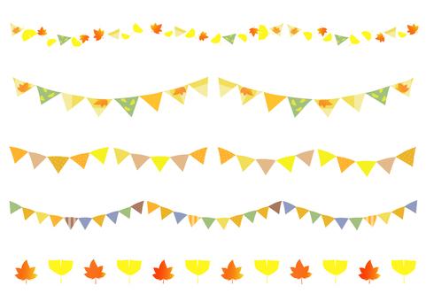 가을의 깃발 소재