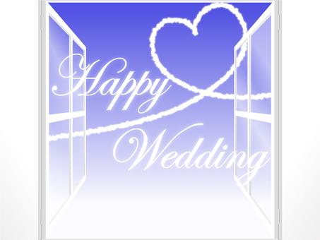 White window ~ Happy Wedding ~ 2