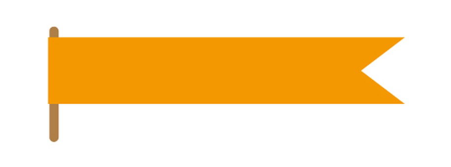 Title Flag (Orange)