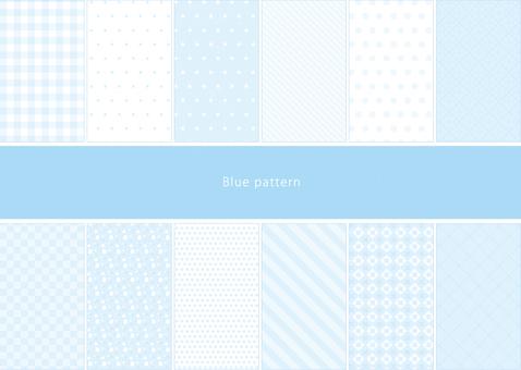 Light color pattern Blue pattern
