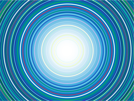 Radial concentric circle 03