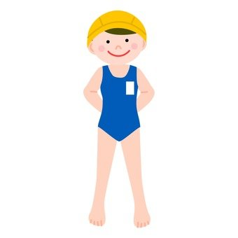 Girls in bathing suits