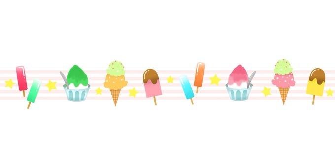 Summer dessert line