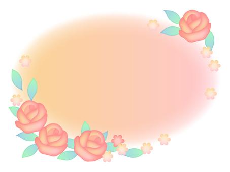 Roses frame 2