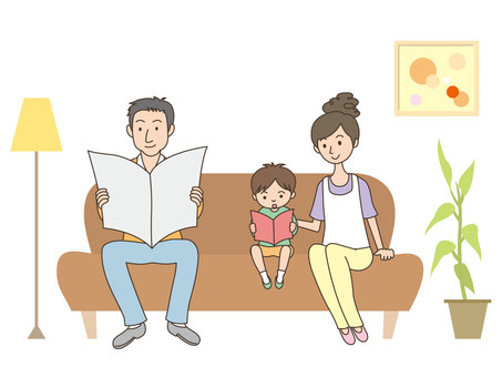 人物/家族/リビング・待合室