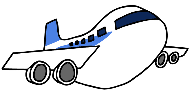 Airplane illustration 4