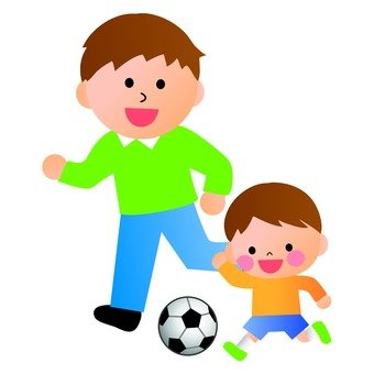 Parent and child soccer