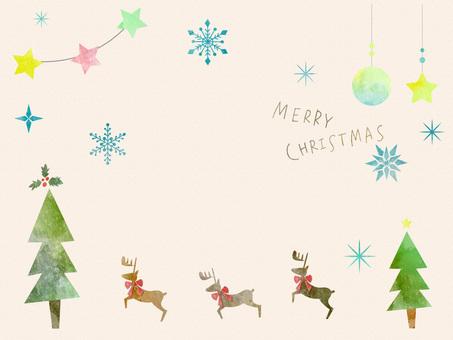 Рождественская рамка вер 13