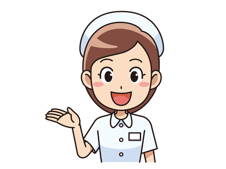 Female nurse to guide