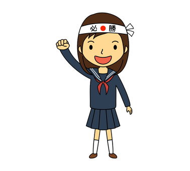 Junior high school uniform girls 6