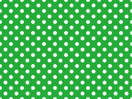 Polka dot pattern green 1