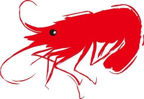 蝦,鮭魚,蝦,蝦,蝦