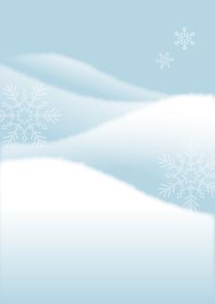 Winter landscape Snow 2