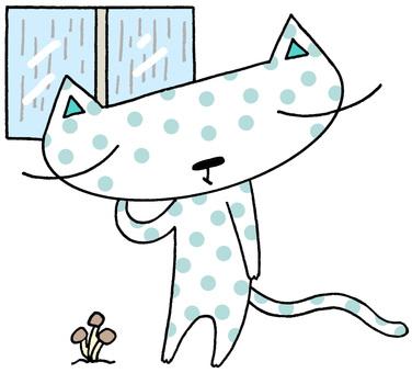 Cat character · depression