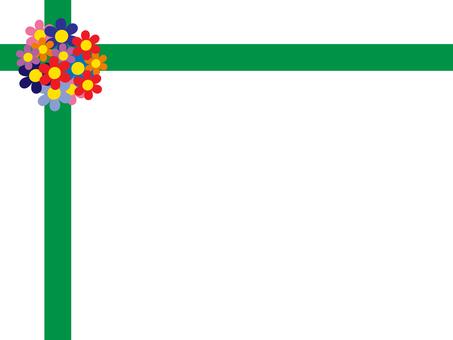 花絲帶框架