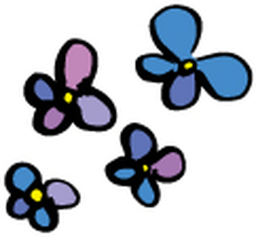 Hand-painted flowers-01
