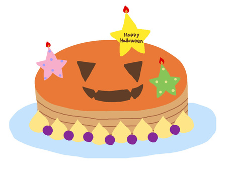 Witch's handmade cake 3