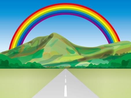 Road Chapter 8 Mt. Fuji and Rainbow