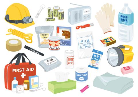 Disaster prevention set