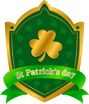 St. Patrick's Holidays Emblem