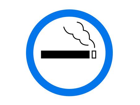 Smoking area smoking icon illustration transparent