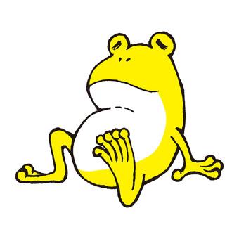 Frog resting part 4