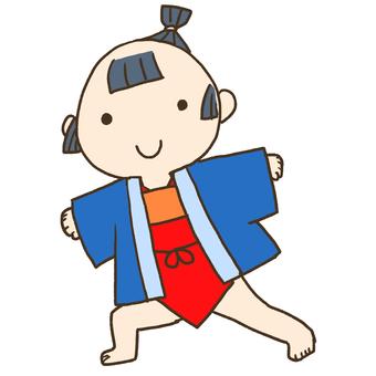 江戸時代くらいの子ども